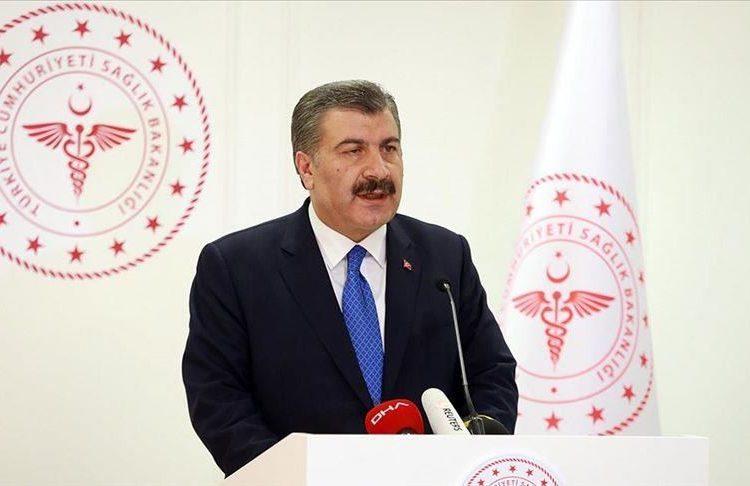 وزير الصحة التركي يعلن انتركيا تسجل أرقامًا قياسية مجددا.. كورونا يضرب المجتمع التركي بقوة..